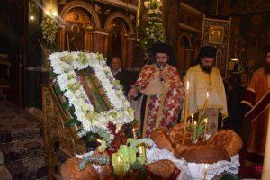 Πανηγυρικός Εσπερινός του Αγίου Ανδρέου στην Σαλαμίνα