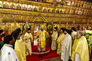 Αρχιερατικό Συλλείτουργο  και Χειροτονία Διακόνου επί τη εορτή του Αγίου Δαμασκηνού του Στουδίτου