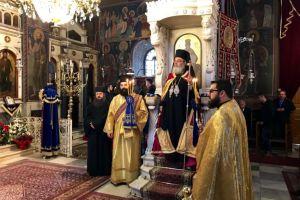 Η εορτή των Εισοδίων της Θεοτόκου στον Μητροπολιτικό Ναό Λεβαδείας