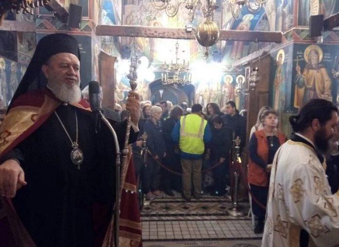 You are currently viewing Με λαμπρότητα πανηγύρισε η Ιερά Μονή Οσίου Δαυίδ στην Εύβοια