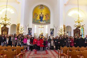 Αρχιερατική Θεία Λειτουργία για τα παιδιά των Κατηχητικών Σχολείων