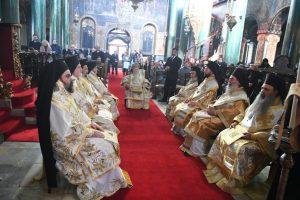 Οι Μητροπολίτες Μεσσηνίας και Σταγών συλλειτούργησαν με τον Πατριάρχη