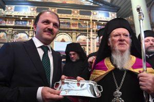 Οικουμενικός Πατριάρχης: Δεν θα παύσωμεν να αγωνιζώμεθα