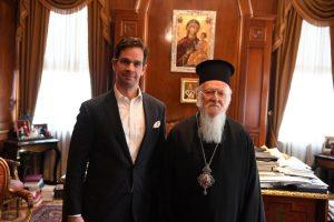Συνάντηση Οικουμενικού Πατριάρχου με τον Γενικό Πρόξενο της Ουγγαρίας
