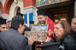 Πανηγυρική Θεία Λειτουργία και Αναχώρηση ΤιμίαςΖώνης από τη Ν. Ιωνία