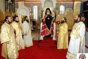 Με θρησκευτική λαμπρότητα η πανήγυρη του Πολιούχου της Σπάρτης Οσίου Νίκωνος