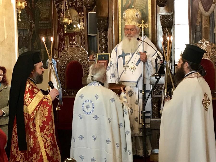 Η εορτή της Ανακομιδής των Λειψάνων του Αγίου Γεωργίου στην Ι.Μ. Θηβών