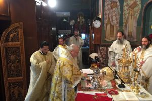Τιμήθηκε η μνήμη του Αγίου Αναστασίου του εκ Παραμυθίας στο Βύρωνα