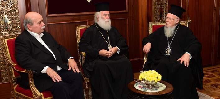 You are currently viewing Πρόεδρος της Βουλής και Πατριάρχης Αλεξανδρείας στο Φανάρι