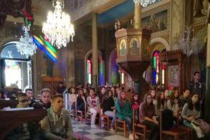 Επίσκεψη μαθητών της Ριζαρείου σχολής στο Ναύσταθμο Σαλαμίνας