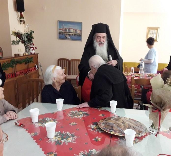 Κοντά στους ασθενείς και τους ηλικιωμένους ο Σεβ. Σάμου Ευσεβιος