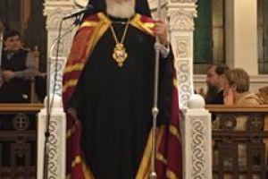 Ο Μέγας Εσπερινός στην Αγία Βαρβάρα Αιγάλεω, της Αποστολικής Διακονίας.