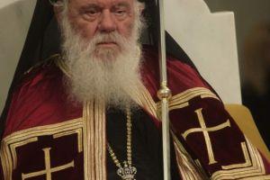 Στον εσπερινό στο ιερό Ησυχαστήριο Μεταμορφώσεως Σωτήρος – Αγίου Πορφυρίου ο Αρχιεπίσκοπος