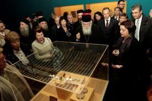 Παρουσία του Αρχιεπισκόπου τα εγκαίνια της έκθεσης «Θρησκευτική Τέχνη από την Ρωσία στην Ελλάδα»