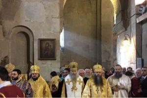 Αντιπροσωπεία ρώσων Επισκόπων στην 40η επέτειο ενθρονίσεως του Πατριάρχη πάσης Γεωργίας Ηλία Β'