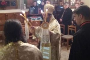Χριστούγεννα στο Μοναστήρι της σφαγής, τον Άγιο Μηνά, από τον Χίου Μάρκο