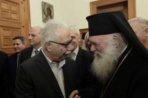 Συνωστισμός… πολιτικών στην πίτα της Αρχιεπισκοπής-Ο Αρχιεπίσκοπος Ιερώνυμος ευχήθηκε ενότητα!