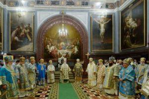 Πατριαρχικό Συλλείτουργο στη Μόσχα