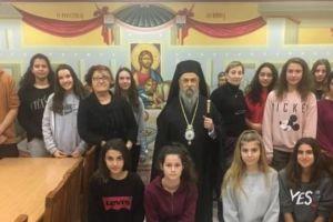 Το 8ο Γυμνάσιο Λάρισας βοηθά τα συσσίτια της Μητρόπολης