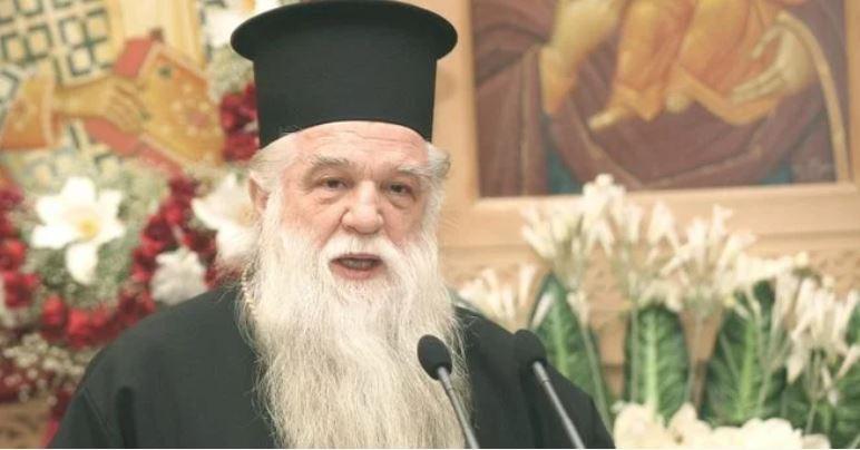 Αμβρόσιος προς Πολάκη: «Στους ανθρώπους μπορείτε να συμπεριφέρεσθε σαν μάγκας, όχι όμως καί προς τον Θεόν»
