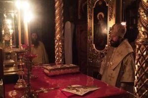 Ο Βολοκολάμσκ Ιλαρίωνας στο Αγιον Ορος