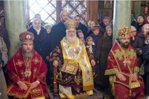 Ο Βεροίας Παντελεήμων στην πανήγυρη της Αγίας Βαρβάρας στο Λβίβ της Δυτικής Ουκρανίας