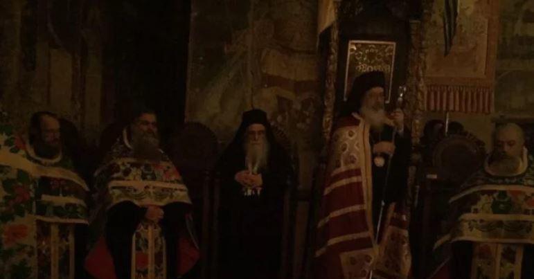 Ο εορτασμός της Ανακομιδής Ιερών Λειψάνων του Αγίου Κοσμά του Βατοπαιδινού στο Πρωτάτο