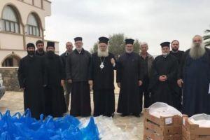 Δέματα αγάπης για 622 συνανθρώπους μας από την Μητρόπολη Ιεραπύτνης και Σητείας στην Κρήτη