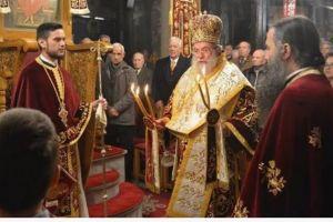 Η Χριστουγεννιάτικη  Θ.Λειτουργία στην Ι.Μητρόπολη Ελευθερουπόλεως