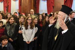 Μηνύματα προς πολλούς αποδέκτες από τον Οικουμενικό Πατριάρχη Βαρθολομαίο- Το δράμα που βιώνει  η Παλαιστίνη  στο επίκεντρο του ενδιαφέροντός του.