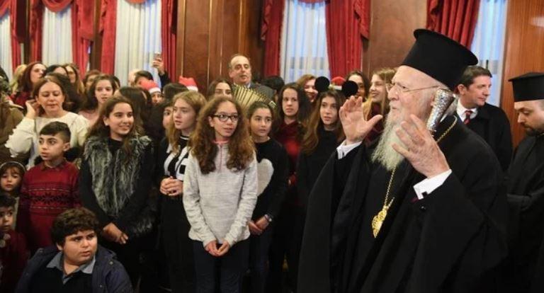 You are currently viewing Μηνύματα προς πολλούς αποδέκτες από τον Οικουμενικό Πατριάρχη Βαρθολομαίο- Το δράμα που βιώνει  η Παλαιστίνη  στο επίκεντρο του ενδιαφέροντός του.