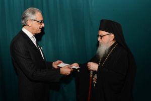 Ο Αρχιεπίσκοπος θέλει χρήματα της «Ηγεσίας των 100» για τις εργασίες του Αγίου Νικολάου