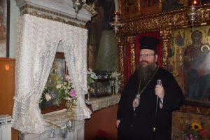 Θεία Λειτουργία στην Ιερά Μονή Παναγίας Φανερωμένης – Σαλαμίνος