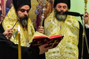 Ο Σεβ. Μητροπολίτης Σμύρνης Βαρθολομαίος στον Ιερό Ναό των Θεοφανείων Λαγκαδά