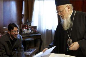 Ο Οικουμενικός Πατριάρχης αποκλειστικά στο περιοδικό δρόμου «σχεδία»
