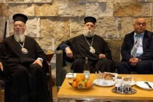 Στιγμιότυπα από την άφιξη του Οικουμενικού Πατριάρχη στο Ισραήλ