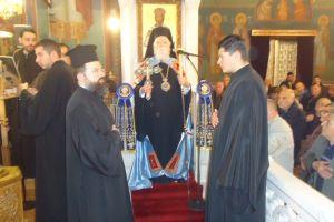 Πλήθη πιστών στον Πανηγυρικό Εςπερινό του Αγ. Νικολάου Καλλιθέας