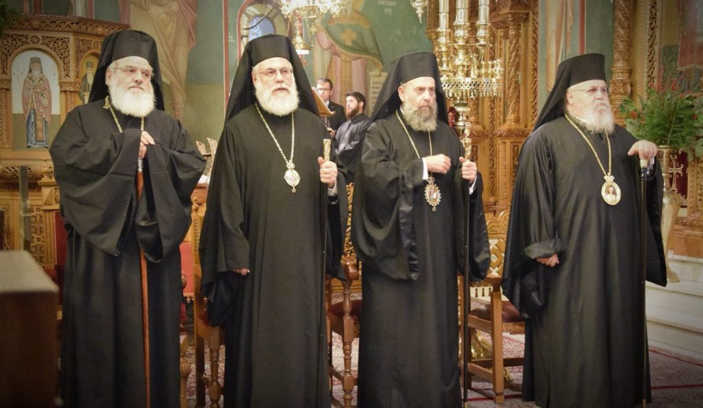 You are currently viewing Ο Εσπερινός για τον Προφήτη Δανιήλ και τον εορτάζοντα Μητροπολίτη Καισαριανής Δανιήλ