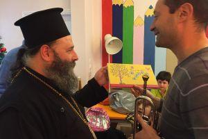 Χριστουγεννιάτικες μελωδίες στα παιδιά της «Αποστολής» στην Μητρόπολη Ιωαννίνων