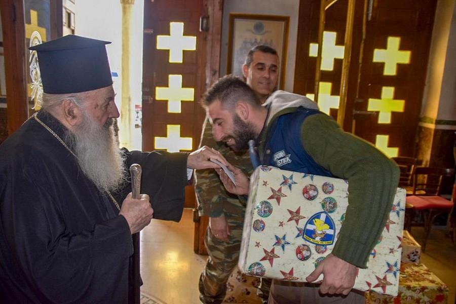 Η Ιερά Μητρόπολη Μηθύμνης στηρίζει τους συνανθρώπους μας που έχουν ανάγκη