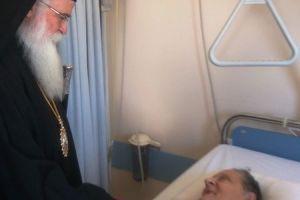 Κοντά στους ασθενείς του Νοσοκομείου Βόλου ο Μητροπολίτης Δημητριάδος