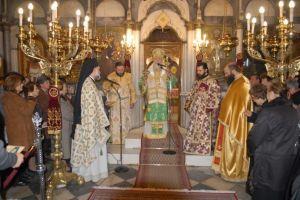 Αγρυπνία προς τιμήν των Οσίων Πορφυρίου και Ιακώβου του νέου ασκητού στην Πόλη της Χαλκίδος