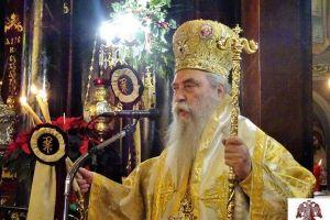 Η Χριστουγεννιάτικη Θεία Λειτουργία από τον Μητροπολίτη Σπάρτης Ευστάθιο