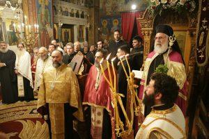 Η πανήγυρις του Ιερόυ Ναού Αγίου Αντωνίου Άνω Πατησίων  με τον Ιλίου Αθηναγόρα