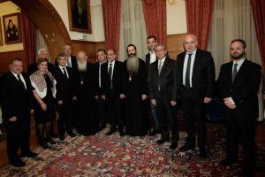 Επίσημο δείπνο στους Περιφερειάρχες παρέθεσε ο Αρχιεπίσκοπος Ιερώνυμος