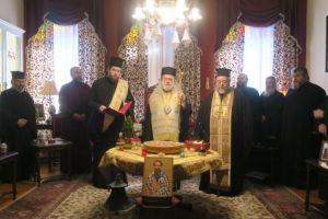 Ευλογία και κοπή Βασιλόπιτας στο Επισκοπείο Ερμουπόλεως και στην Περιφέρεια Ν. Αιγαίου
