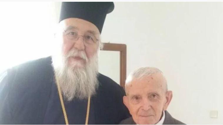 Ο Κερκύρας  Νεκτάριος επισκέφθηκε  τον αδελφό του Μακαριστού Αρχιεπισκόπου Χριστοδούλου στο Αίγιο