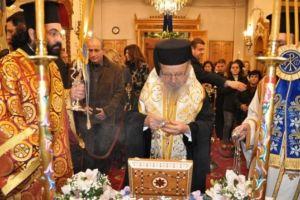 Το Αγρίνιο υποδέχθηκε απότμημα Ιερού Λειψάνου του Αγίου Γεωργίου εξ Ιωαννίνων