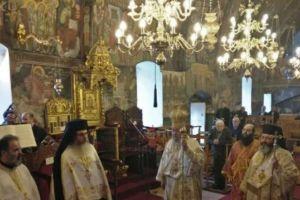 Θεία Λειτουργία και Δοξολογία για το νέο έτος από τον Κύπρου Χρυσόστομο