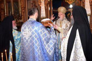 Πανηγυρική Θ. Λειτουργία στον Αγ. Ιωάννη Ταύρου με τον Μητροπολίτη Κορωνείας